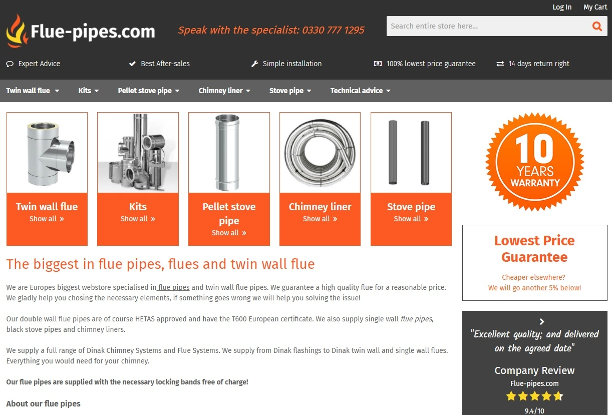 Flue pipes uk